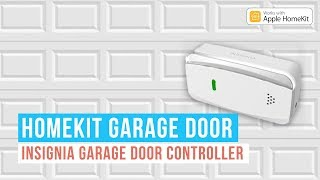 Homekit Garage Door Opener : Insignia Garage Door Controller