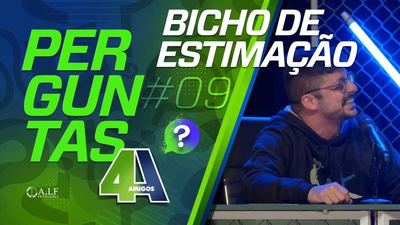 PERGUNTAS - BICHO DE ESTIMAÇÃO - #09