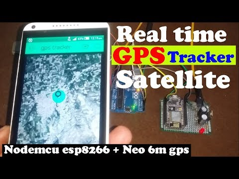 """Arduino Project: GPS Tracker using Nodemcu esp8266 and blynk application """"Real time tracking Map"""""""