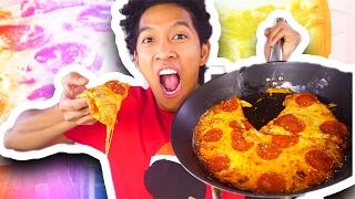 HOW TO MAKE PIZZA QUESADILLA!!!