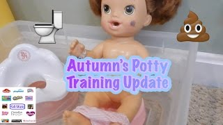 Autumn's Potty Training Update