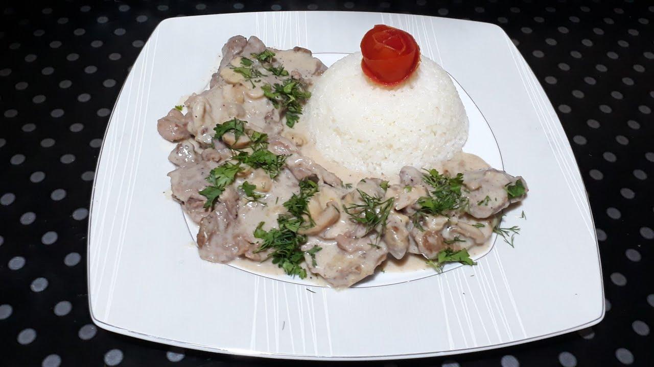 بيكاتا اللحم بالمشروم علي طريقة المطاعم مفيش ألذ ولا أسرع من كده 👍🏻