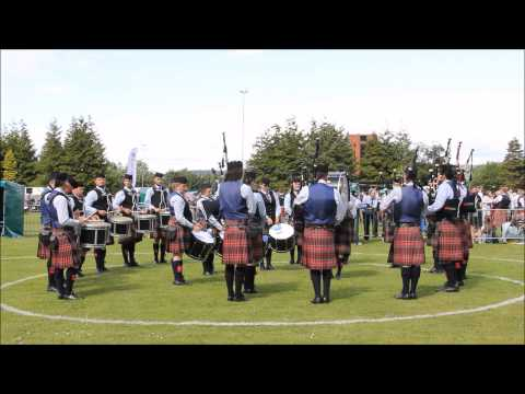 Scottish Championships 2015 - University of Bedfordshire Pipe Band