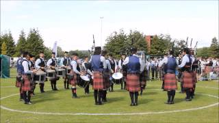 Scottish Championships 2015 - University of Bedfordshire Pipe Band