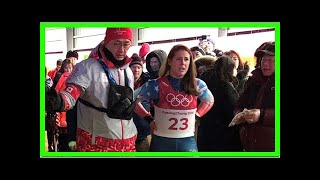 American Emily Sweeney walks away after scary Olympic luge crash By J.News