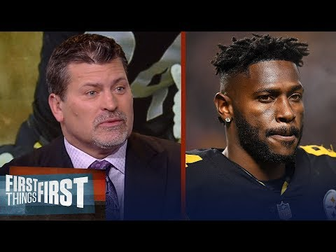 Mark Schlereth says the Steelers have to move on from Antonio Brown | NFL | FIRST THINGS FIRST