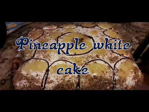 Easy Yummy Pineapple White Cake