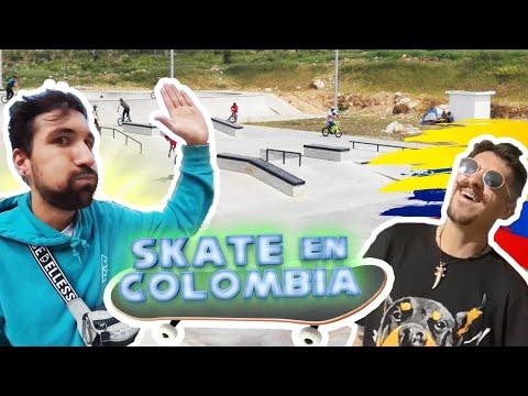 SKATE en Colombia/casi morimos el 1º día