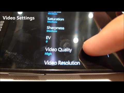 Quick Tour of  Samsung Omnia W Windows Phone 7.5 Mango