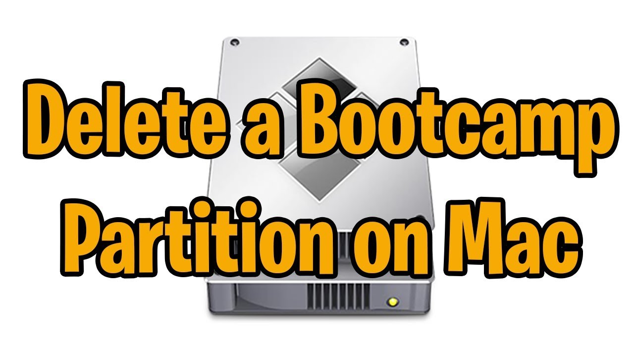 how to erase bootcamp on mac