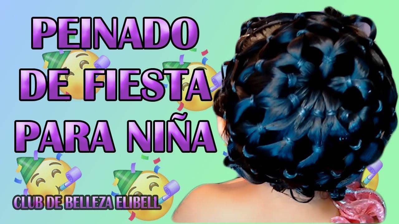 Peinado De Fiesta Para Nina Paso A Paso Muy Facil Red En Coletas