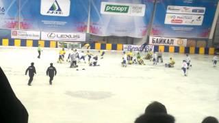 Драка на ВСА матч за третье место Украина   Монголия