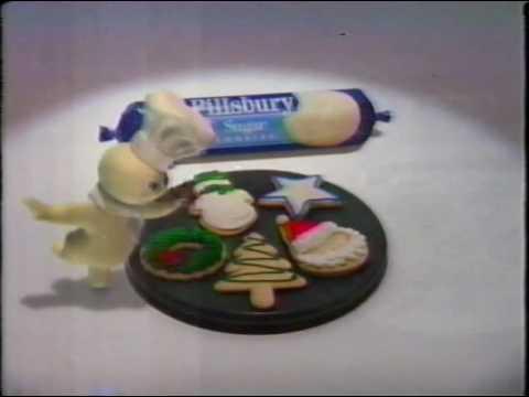 Pillsbury Dough Boy Sugar Cookie Holiday Ads 1996 Youtube