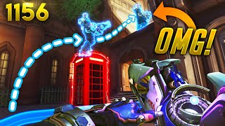 The MOST *SECRET* Zarya PATH!! | Overwatch Daily Moments Ep.1156 (Funny and Random Moments)