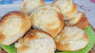 Pãozinho de Coco com Creme Super Fofinhos