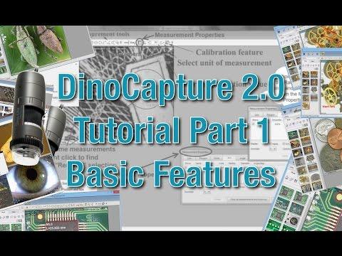 DinoCapture 2.0 Software Tutorial - Part 1: Basic Features