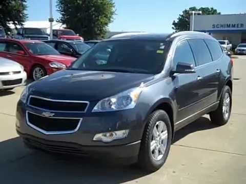 2010 Chevy Traverse Lt Review Stock 9812 Schimmer Gm Youtube