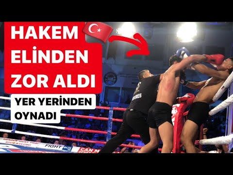 Türk Dövüşçü Çıldırdı Türkiye Vs Dünya Karması Kick Boks Sakarya Hendek