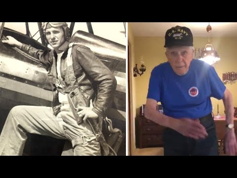Bobby Gunther Walsh - This elderly vet can still bust a move!
