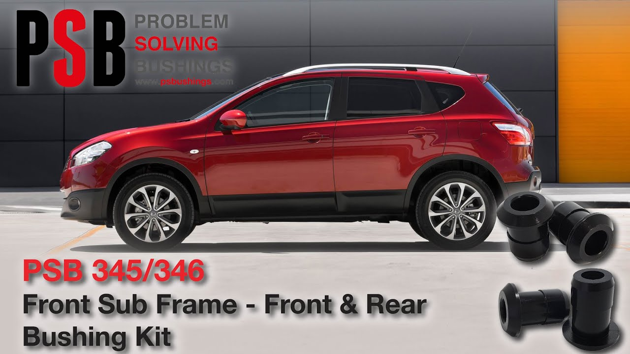 nissan rogue 08 18 front subframe poly bushing kit front and rear armstrong distributors [ 1280 x 720 Pixel ]
