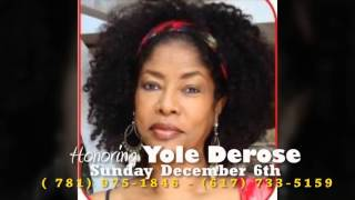 Honoring Yole Derose - Sunday December 6th 2015 in Randolph Massachusetts