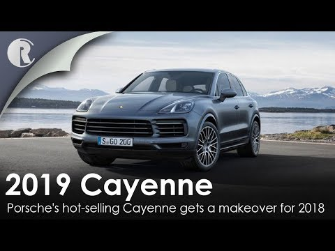 Porsche's hot-selling Cayenne gets a makeover for 2018