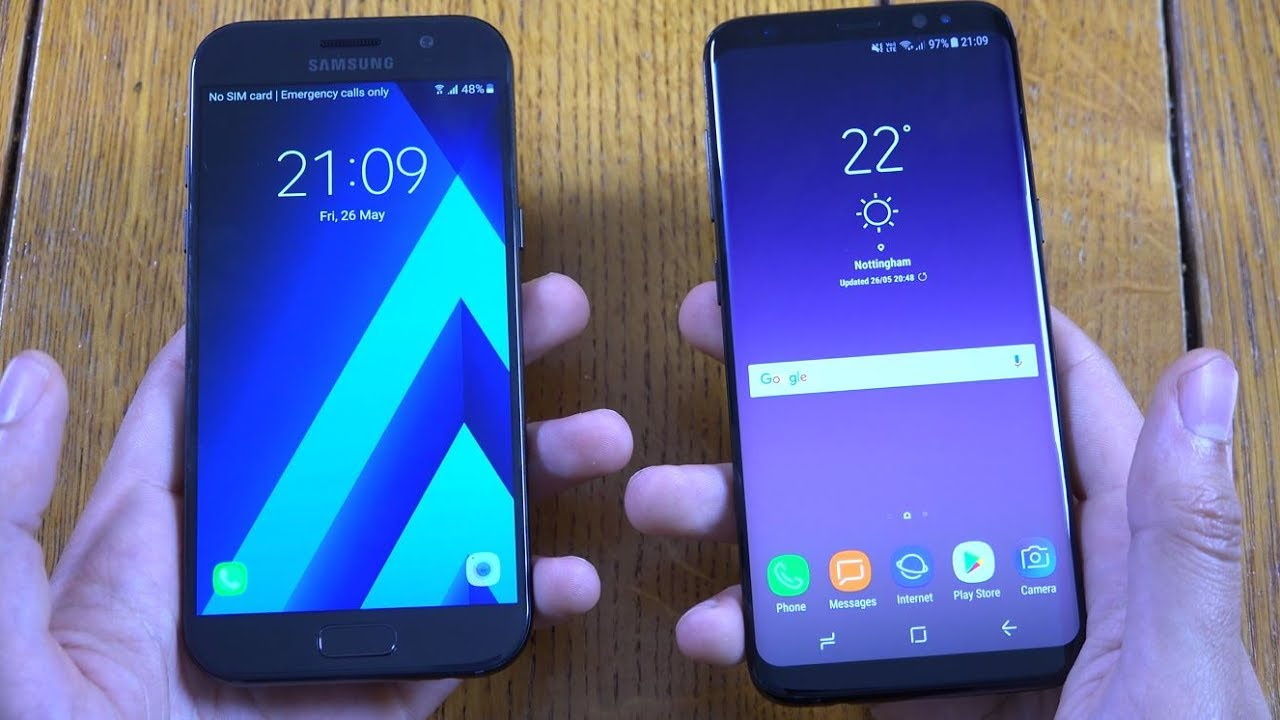 how to get widgets on samsung a5 2017