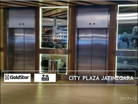 Original Old GoldStar Traction Elevators at City Plaza Jatinegara, Jakarta