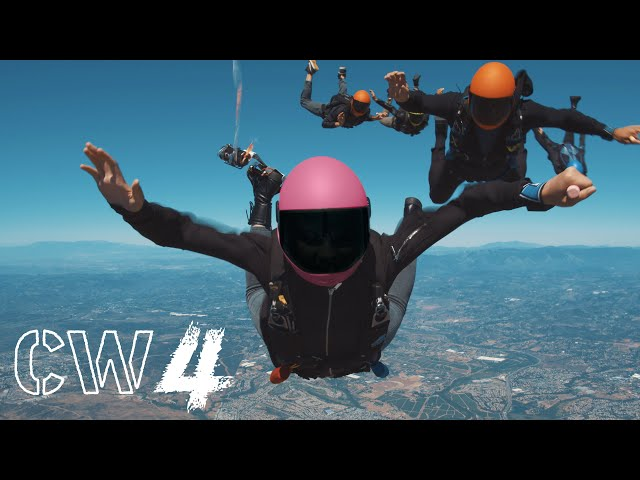 Jumping from a Plane for YouTube   Creating CW4