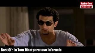 La Tour Montparnasse Infernale Jannonce coup de pied lateral en pleine face, ramzy et le chinois