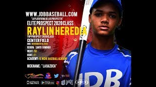 Raylin Heredia OF 2020 Class From (El Niche Baseball Academy)Date Video: 17.12.2018