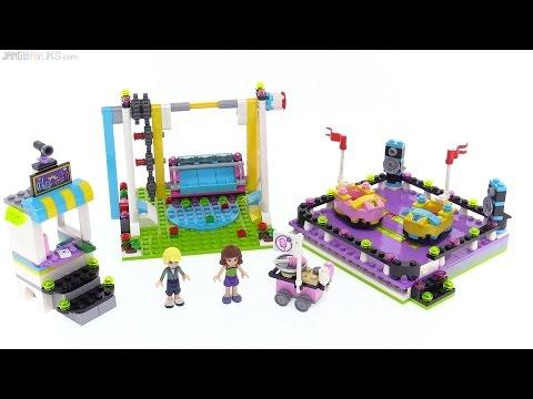 LEGO Friends Amusement Park Bumper Cars review! 41133 - YouTube