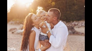 Anamorphic Lens Raw video  Baby Newborn Family Photography