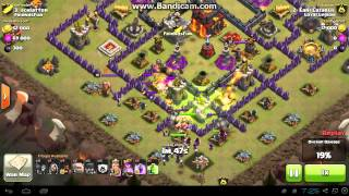 Clash of Clans - TH9 vs TH10 - GoWiWi (Earl Lazarus)