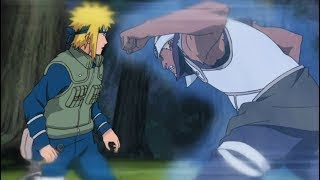 Naruto Shippuden - English Subbed, Minato Uses Secret Techniques To Save His Team [60FPS]