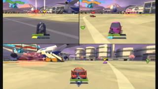 Cars 2 - 720p- 3 Playes (The Destructor) Vs Dad And Bro