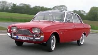 Der Ford Taunus 17m von 1960 im Video - Historische Fahrt mit der Badewanne