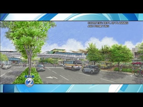 City to present Airport area draft plan as a future with rail nears
