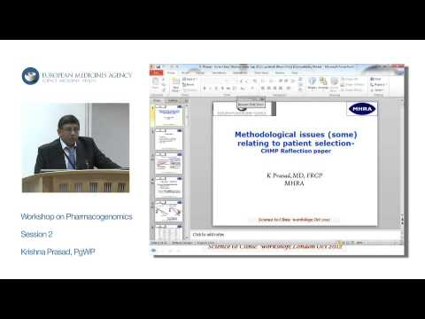 Session 2: Reflection paper on methodological issues associated with PG biomarkers...
