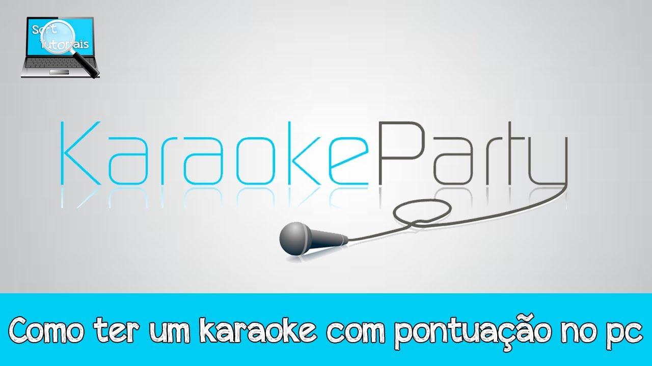 karaoke com pontuao
