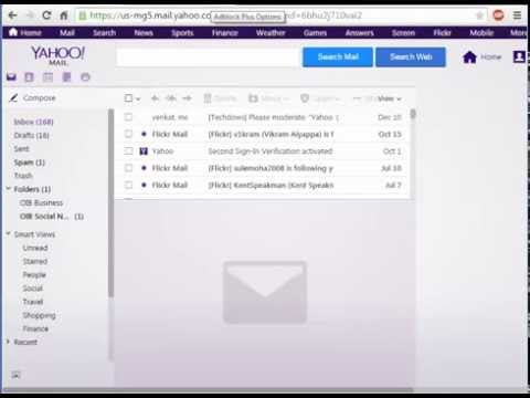 How to hide the News Feed icon in Yahoo Mail?