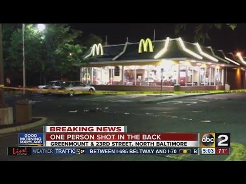 3 shot near Northwest Baltimore McDonalds