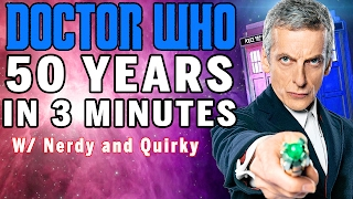 50 YEARS OF DOCTOR WHO EXPLAINED 3 Minutes Or Less Snarled