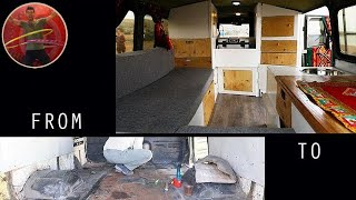 DIY Tiny Camper Van Build – from begin to end - Ep 163
