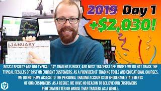A Great Start to 2019! +$2,030! | Ross' Trade Recap