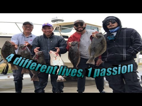 SF Bay Halibut Fishing - 10/19/2019:  4 Different Lives - 1 Passion