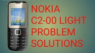 Nokia C2-00 Light Problem Solution