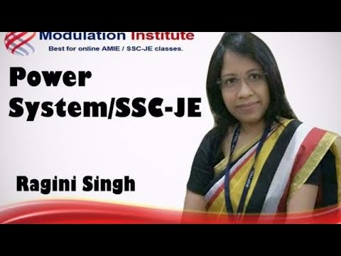 SSC JE Lecture for Electrical Engineering | Power System  By Ragini mam | Modulation institute
