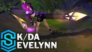 K/DA Evelynn Skin Spotlight - League of Legends