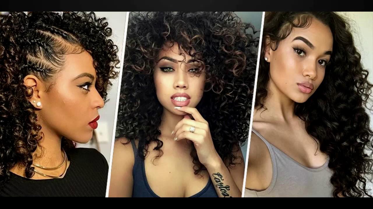 NATURAL HAIR BLACK WOMEN HAIR ♥ CURLY HAIRSTYLES FOR WOMEN